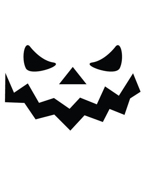 jackolantern templates spooky free printable coloring pages