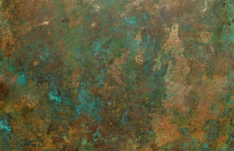 Copper Verdigris Wallpaper Mural   Murals Wallpaper