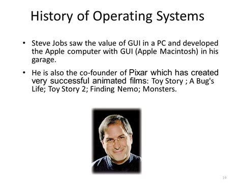 history of steve jobs life introduction to operating systems ppt download