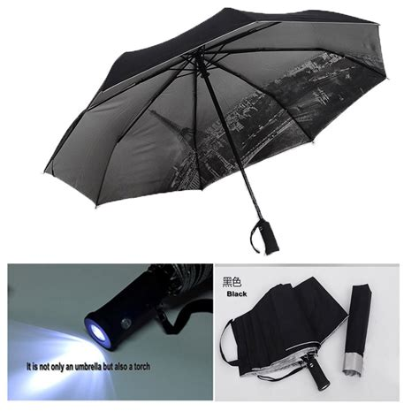 aliexpress umbrella free shipping special uv sun umbrella with flashlight