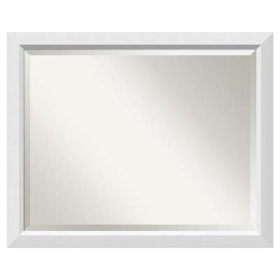 Bathroom Mirrors Target Bathroom Mirror Large Cabinet 31 Quot X 25 Quot Blanco White Target