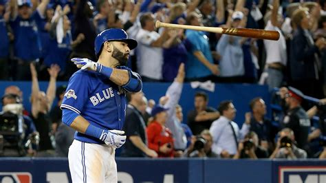 baseball bat flip swing jose bautista not going to apologize for flip mlb com