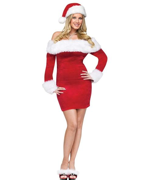 santa sweetie womens costume christmas red red red