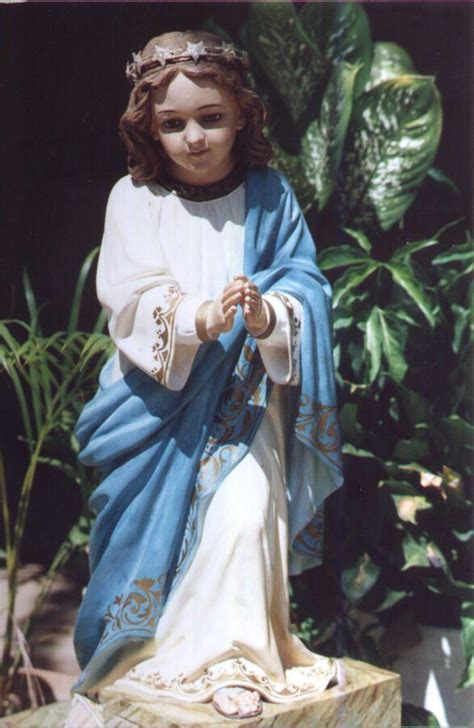 imagenes virgen maria niña la virgen ni 241 a