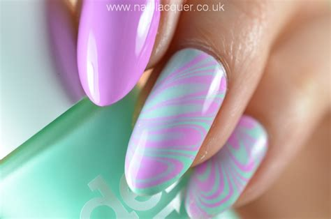Water Nail by Water Marble Nail Nail Lacquer Uk
