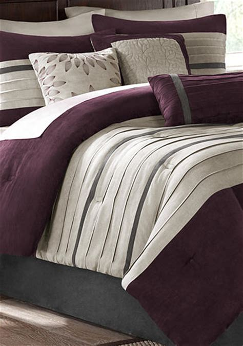 madison park palmer plum 7 piece comforter set online