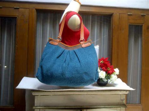 cara membuat tas rajut benang wol jual tas rajut benang wol cantik jual tas rajut bunga