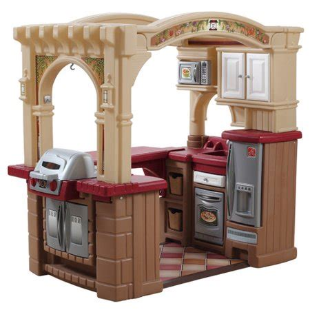 step 2 play kitchen accessories step2 grand walk in play kitchen grill with 103