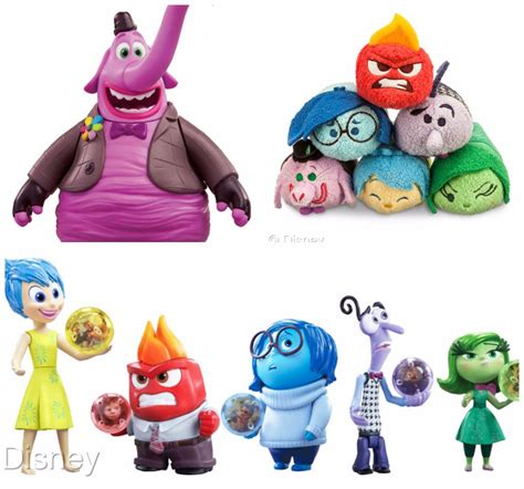 inside out toys collage the disney driven life
