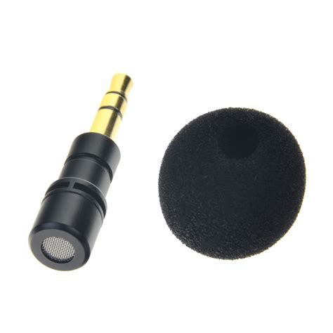 Mini Smartphone 3 5mm Microphone With Mic Stand Pink mini portable 3 5mm mic microphone for recorder mobile
