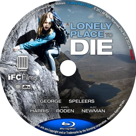 A Place To Die A Lonely Place To Die Custom Dvd Labels A Lonely Place To Die Dvd Covers