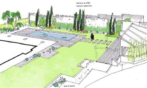 planos jardines dise 241 o de jardines dibujos y esquemas dibujos croquis