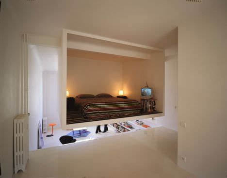 Bedroom In A Box For by Lofted Bedroom In A Box Design Hangs From Ceiling