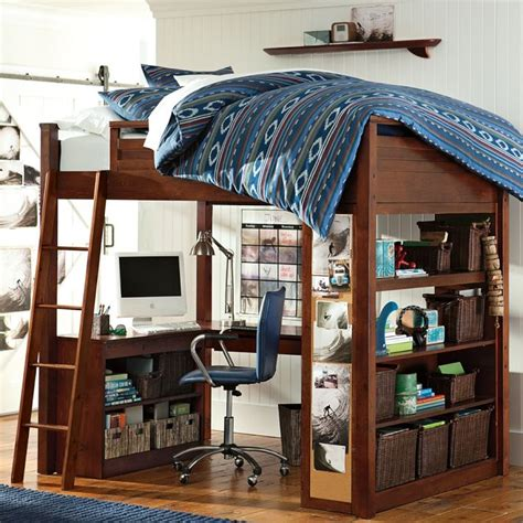 pottery barn loft bed with desk 20 best images about dream desks on pinterest pottery