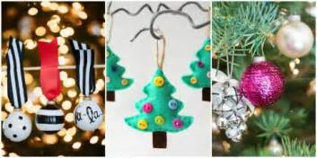 Christmas Tree Decorations To Make At Home 100 Easy Christmas Crafts For 2016 Ideas For Diy