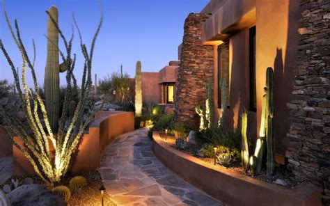 Landscape Lighting Tucson How You Can Use Outdoor Lighting To Highlight Your Landscape