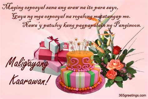 Quotes birthday greetings tagalog m4hsunfo