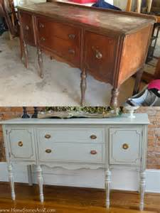 Buffet Sideboard Antique by How To Paint A Vintage Buffet Home Stories A To Z