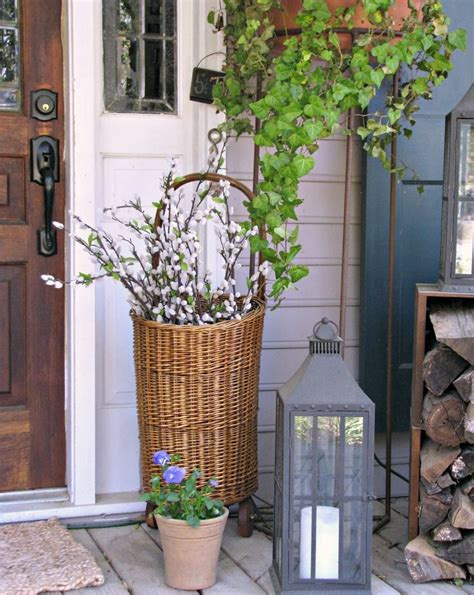 outdoor decoration ideas how to spruce up your porch for spring 31 ideas digsdigs