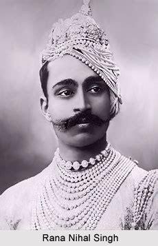 rana nihal singh, maharaja of dholpur