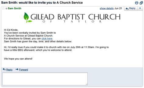 Church Service Invitation Letter Invitation Letter To Worship Service Invitations Ideas