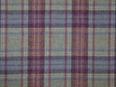 Tartan Fabrics For Upholstery by Curtain Fabric Highland Wool Tartan Mauve