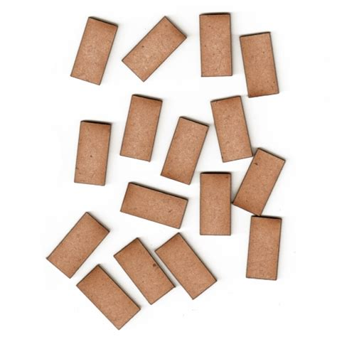 rectangle crafts for mdf rectangle mini plaques for altered and crafts