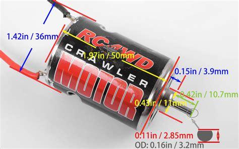 Motor 540 Brushed 27t 45t 55t 540 crawler brushed motor 45t