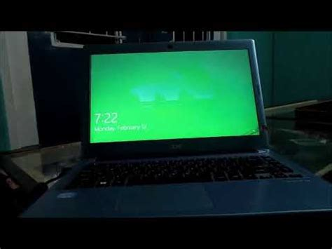 fix laptop green screen acer dell asus hp laptop