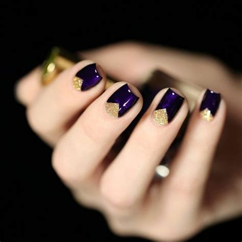 Deco Ongle Or by Les Tendances Chez La D 233 Co Ongles 62 Variantes En Photos