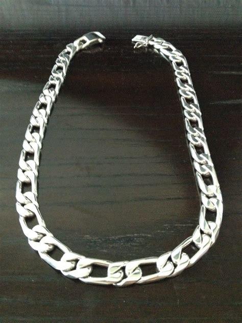 cadenas de plata mexico cadena gruesa de plata ley 925 para caballero uno por uno