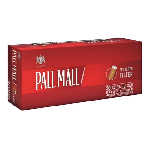 mall reds pall mall red extra zigaretten h 252 lsen 200 st pck