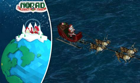 tracking santa on norad how to track santa live best santa tracker for