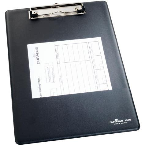 porte documents durable avec pince 224 ressort sur le site