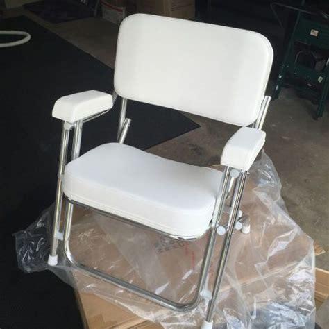 seafit boat chairs find seafit folding deck chair 1 quot anodized aluminum