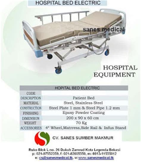 Tempat Tidur Besi Pasien sanes berbagai tips tentang ranjang besi pasien rawat inap rumah sakit type ssm