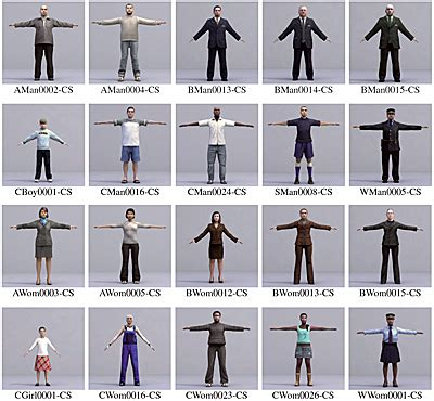 design by humans models metropoly 3d humans 3ds max rigged still collection new ebay