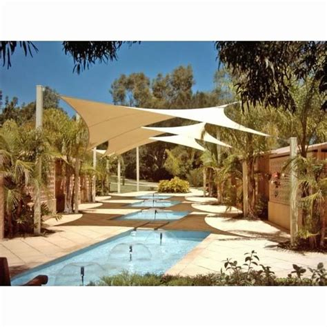 backyard sail shade sun shade sail for patio pool hot tub awning deck party 11