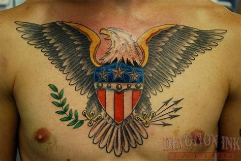 traditional tattoo eagle meaning off the map tattoo