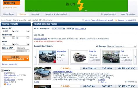 Autoscout Usato by Auto Usate E Truffe Il Vademecum Di Autoscout24
