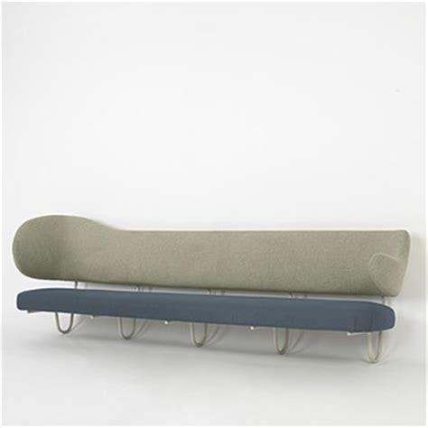 finn juhl custom wall mounted sofa from