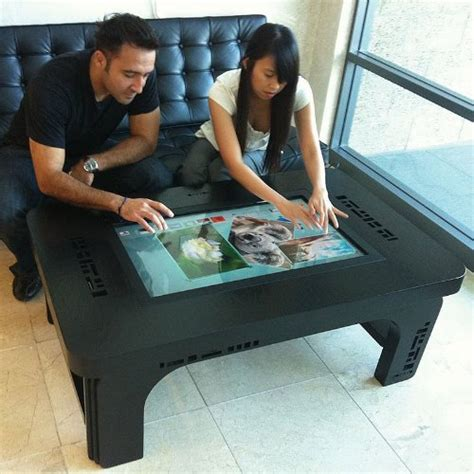 touchscreen coffee table computer coffee table