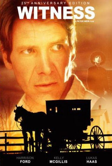 Harrison Ford Amish by Witness 1985 Cine