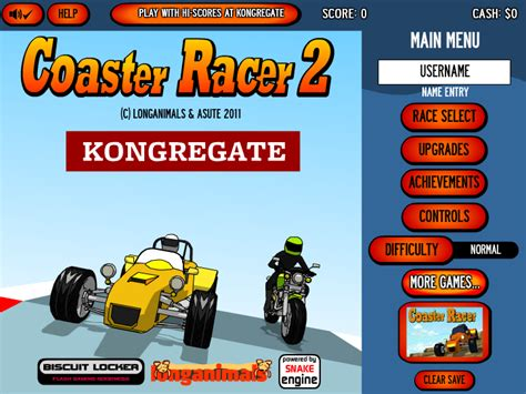 coaster racer  unblocked play  play run games