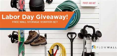 Labor Day Giveaway - a labor day giveaway just for you win a silver hook and panel starter set