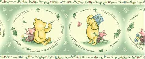 classic pooh wallpaper border disneys winnie the pooh wallpaper border 41262030b