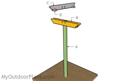 Bird feeding station plans myoutdoorplans free woodworking plans and projects diy shed
