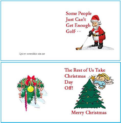 printable christmas place cards uk how to make a greeting card in adobe indesign ehow uk