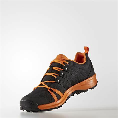 adidas tracerocker mens black orange outdoors walking