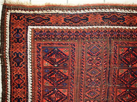Handcrafted Rugs - antique afghan baluch handmade rug 1900s for sale at pamono